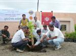 Tree Plantation at Ratanpar Anath Ashram with LIFE