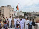 Flag Salutation at St. Tulsi School