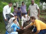 Tree Plantaton at Kothariya Primary School with LIFE